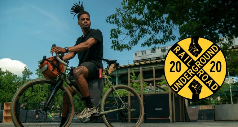 Washington, D.C. native John Shackelford is biking the 1,114 miles of the Underground Railroad.