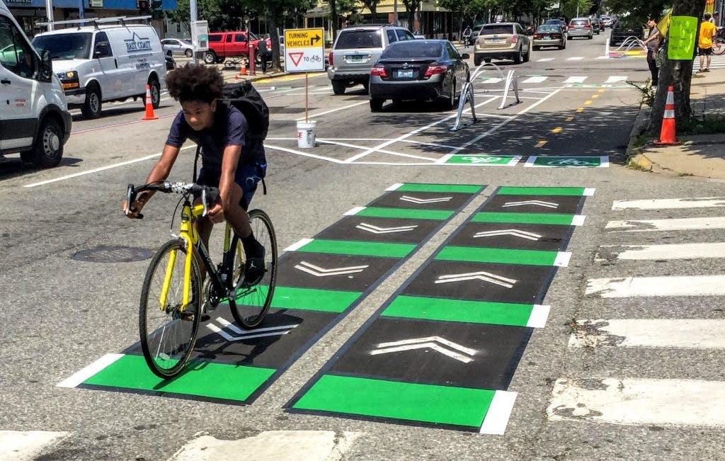 Biking in Providence