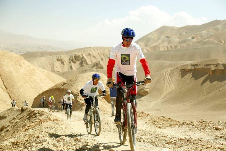 Riders in the Hindukush MTB Challenge.