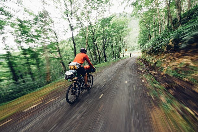 Embrace the adventure of riding on gravel.