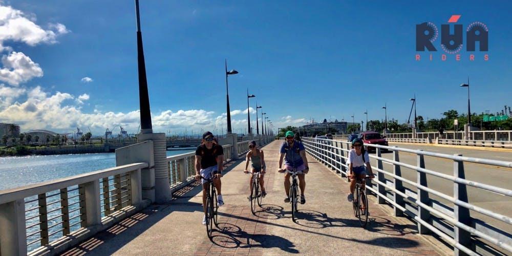 Riding in San Juan.