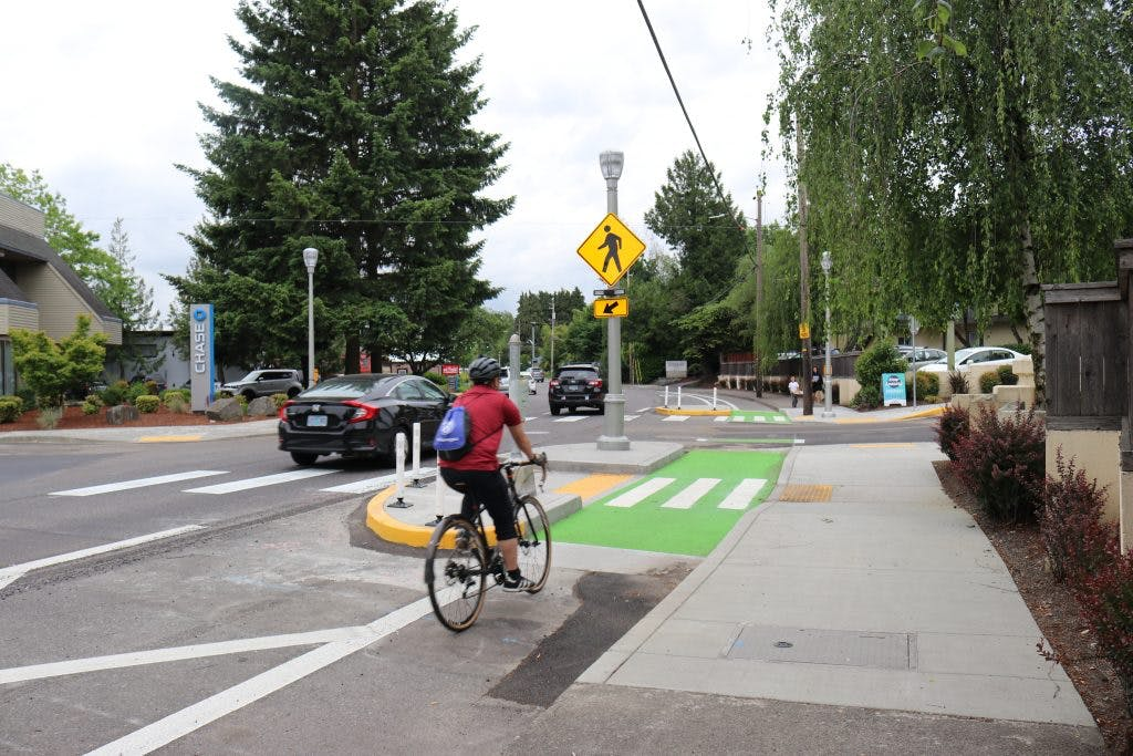 Halsey-Weidler Streetscape Project.