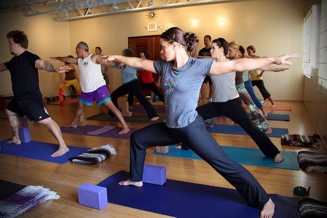 Flow and yoga classes help maintain fitness and flexibility.