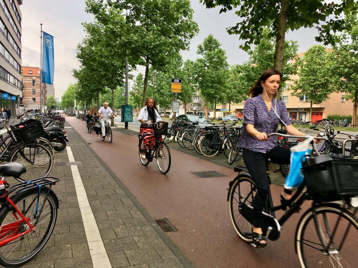 Biking in the Netherlands