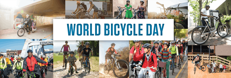 World Bicycle Day is June 3.