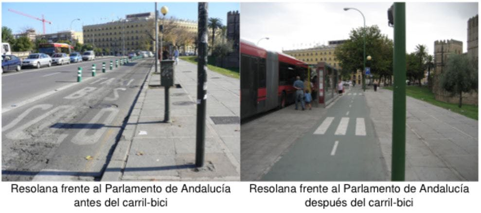 Parlamento de Andalucia before and after