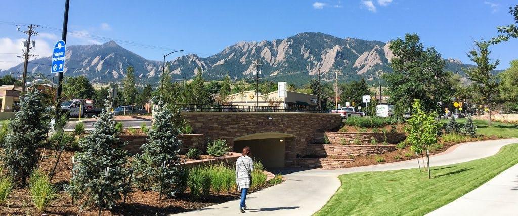 Baseline Underpass, Boulder, Colorado.