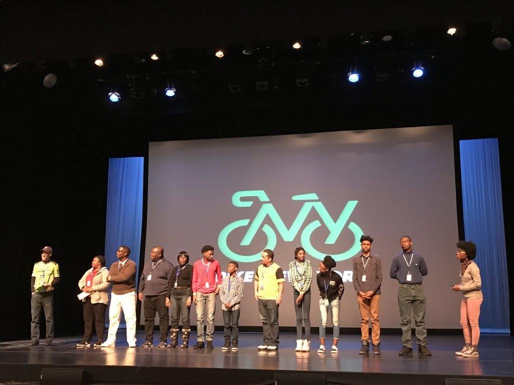 Youth Bike Summit: Members of BRAG.