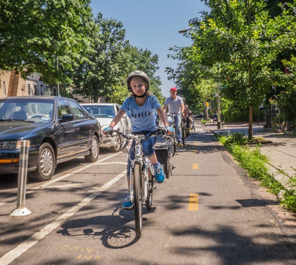 Biking in Washington, DC