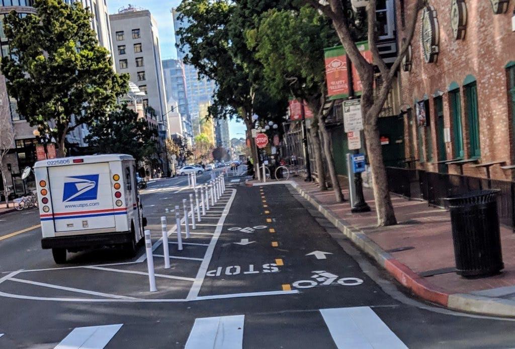 San Diego's J Street.
