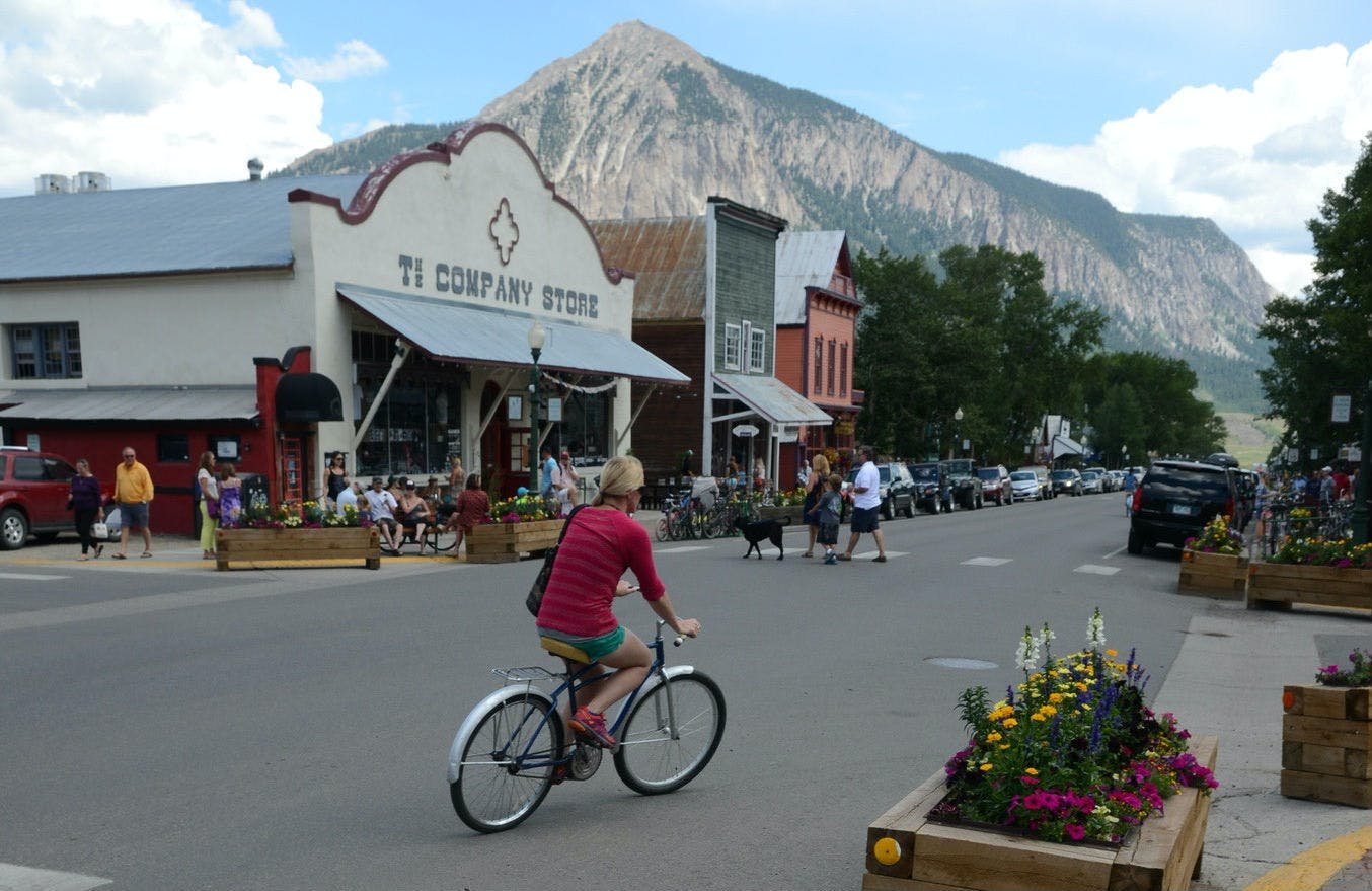 Crested Butte, Colo., population 1,604, got the nation's No. 5 score for cities under 100,000 in the new PlacesForBikes City Ratings.