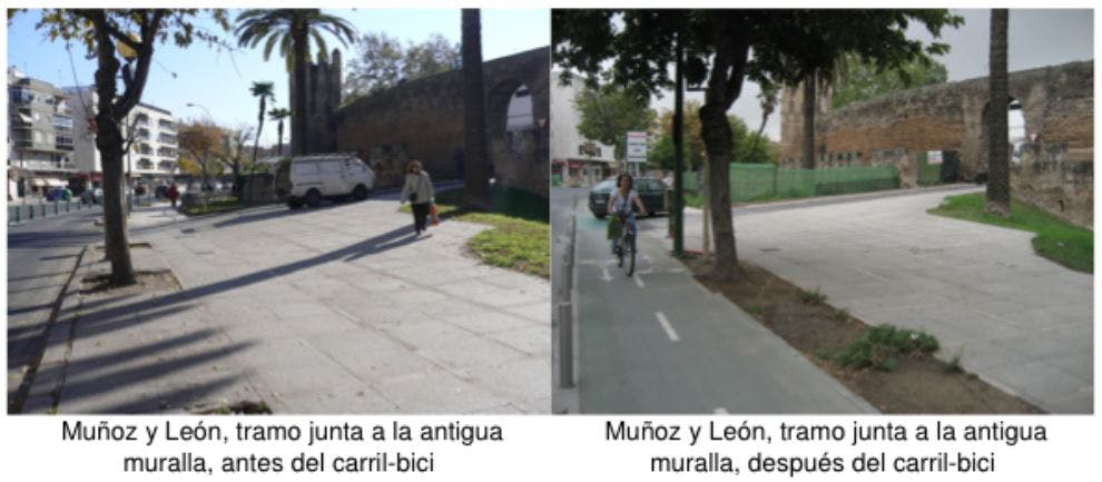 Munoz y Leon before and after