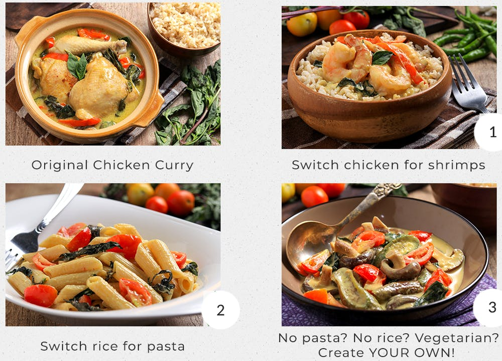 Customize your meals