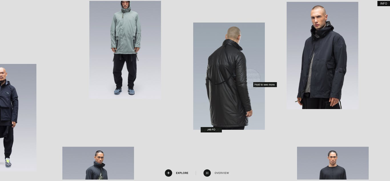 Acronym Product Explorer Home Page