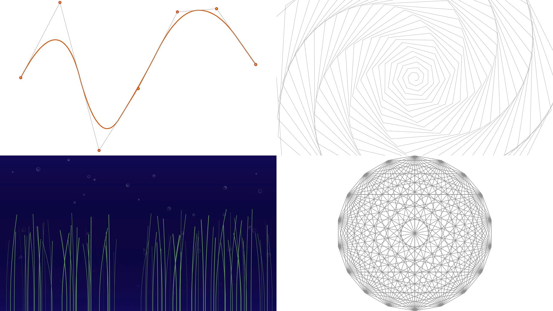 Renders of my CSS Houdini experiments