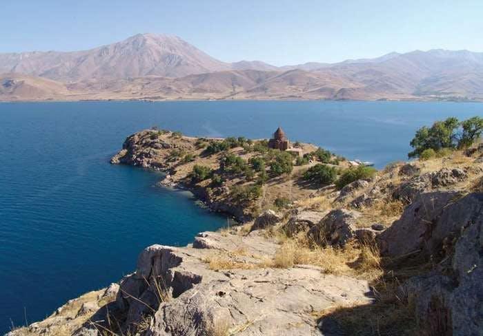 Lake Van, eastern Turkey