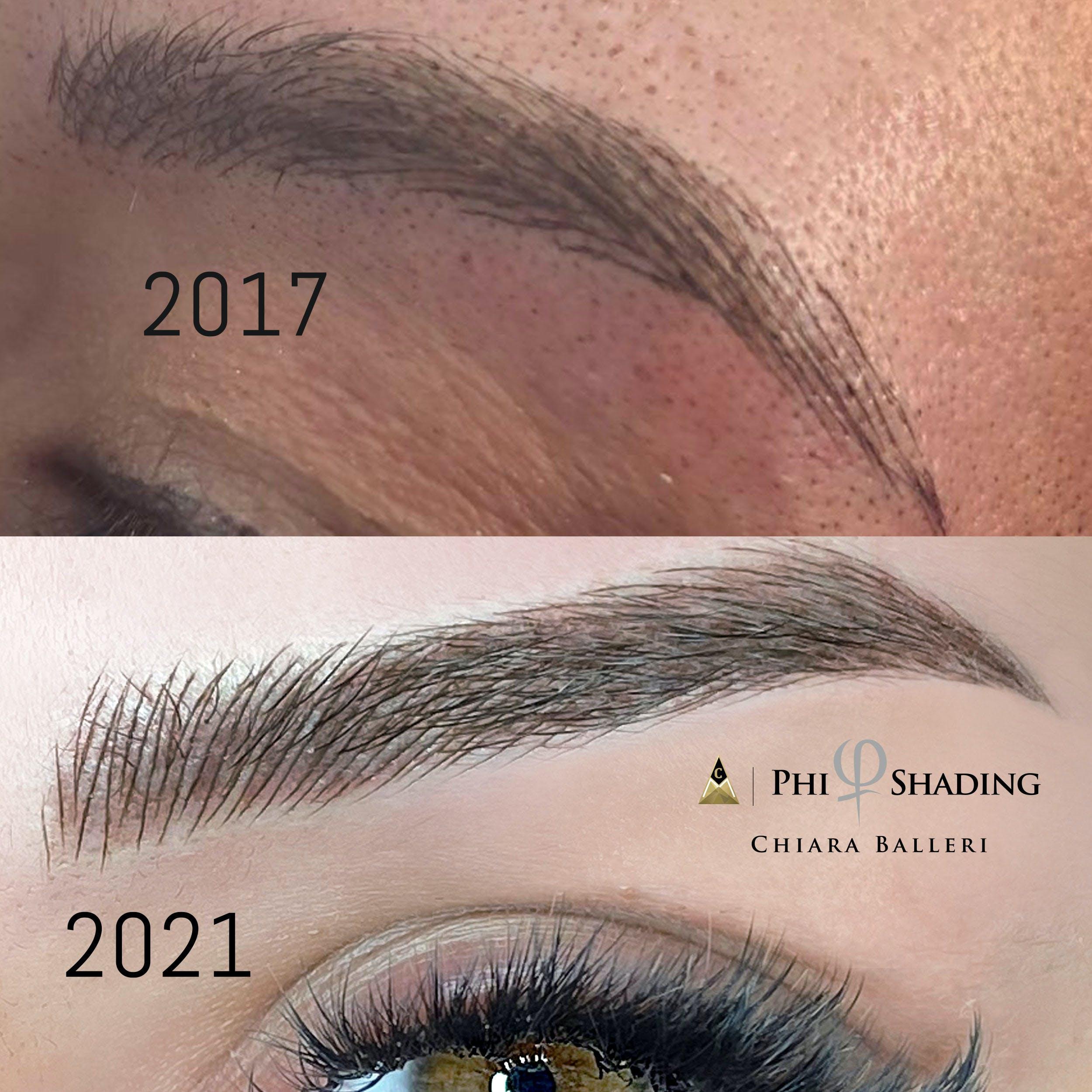 Chiara's amazing progress through years