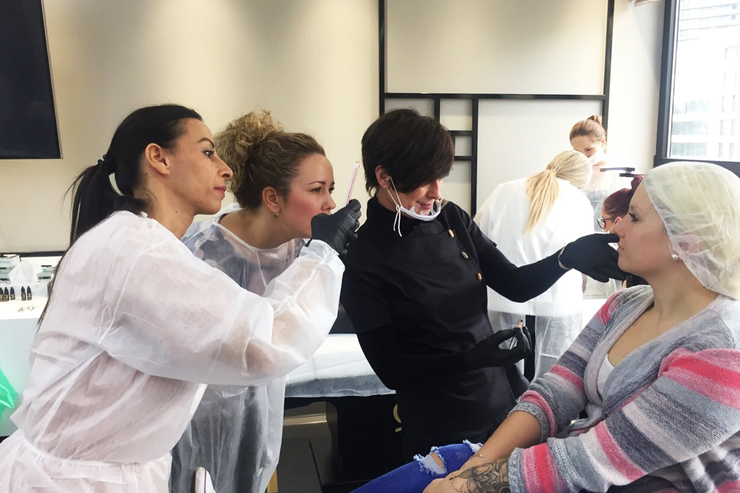 Although a nurse by profession, Zlata chose her career path in the beauty industry.