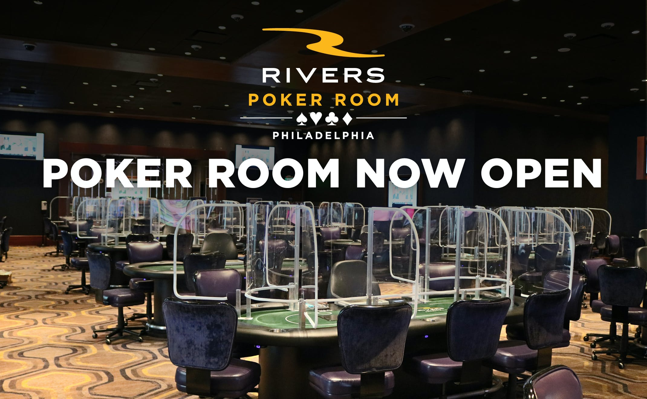 Poker Room Now Open in Philadelphia during Covid 19