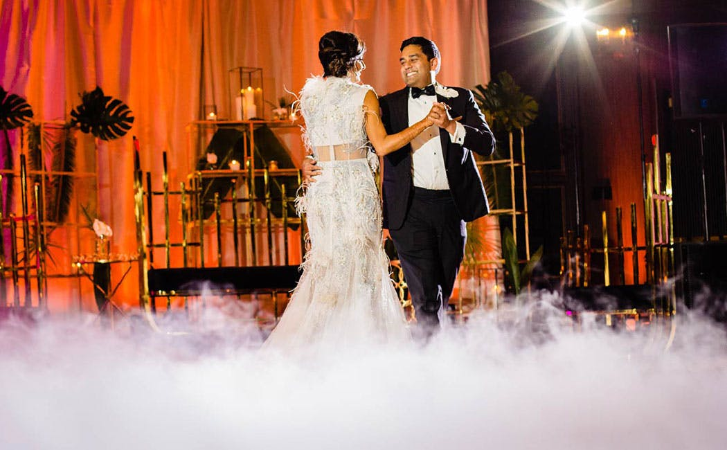 Spotlight: Nyra And Krishna's Show-stopping Wedding At The Event Center