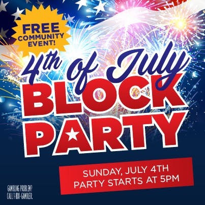 Fourth of July Block Party Free Event