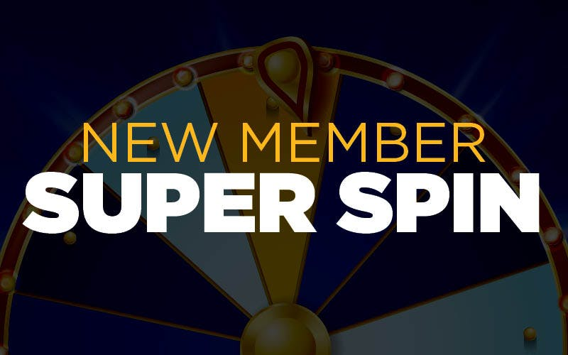 New Member Super Spin
