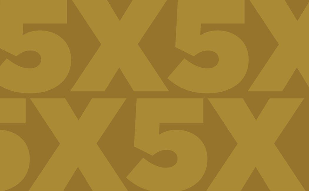 5X Reward Points