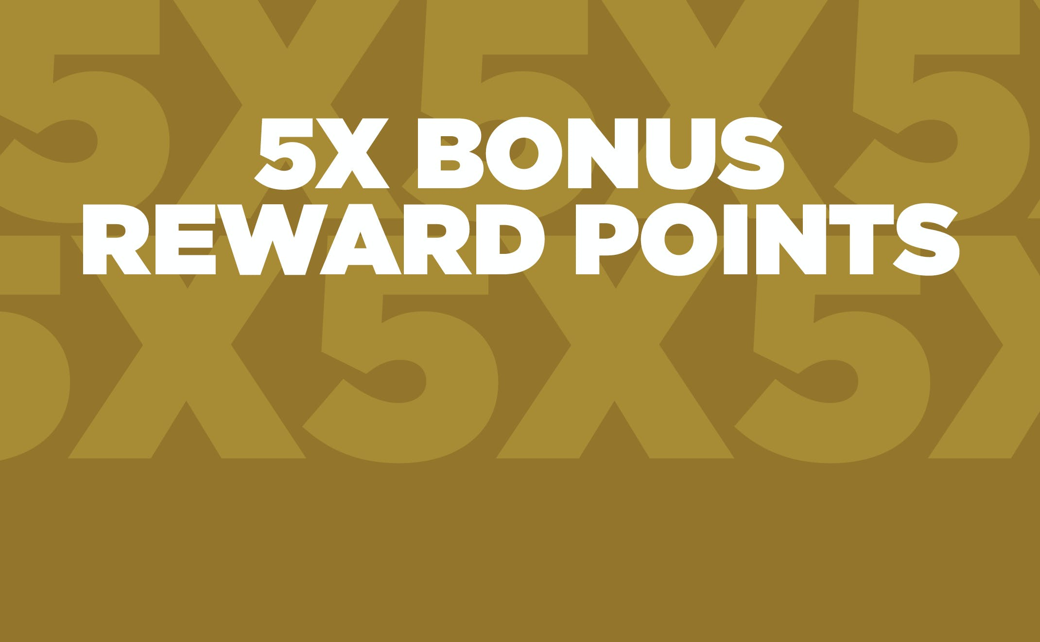 Things to do in Philadelphia - Casino Promotions - High Limit 5X Bonus Reward Points Homepage Slider