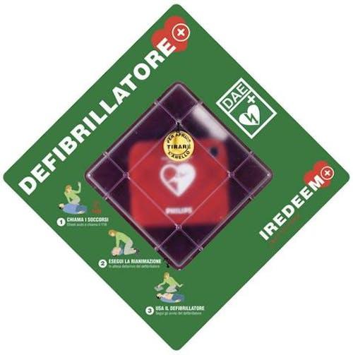 teca per defibrillatore philips
