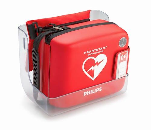 staffa per defibrillatore philips a parete