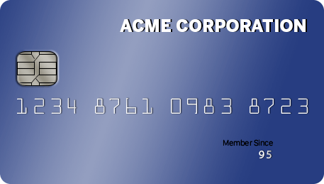 Our ACME Credit Card