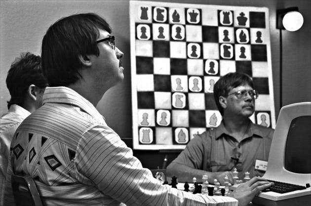 Scene from Computer Chess