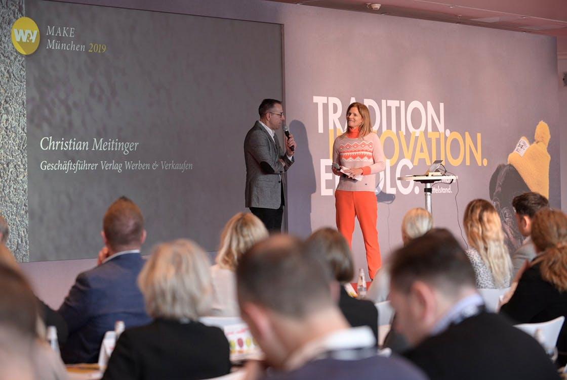 W&V MAKE München - Marketing für den Mittelstand