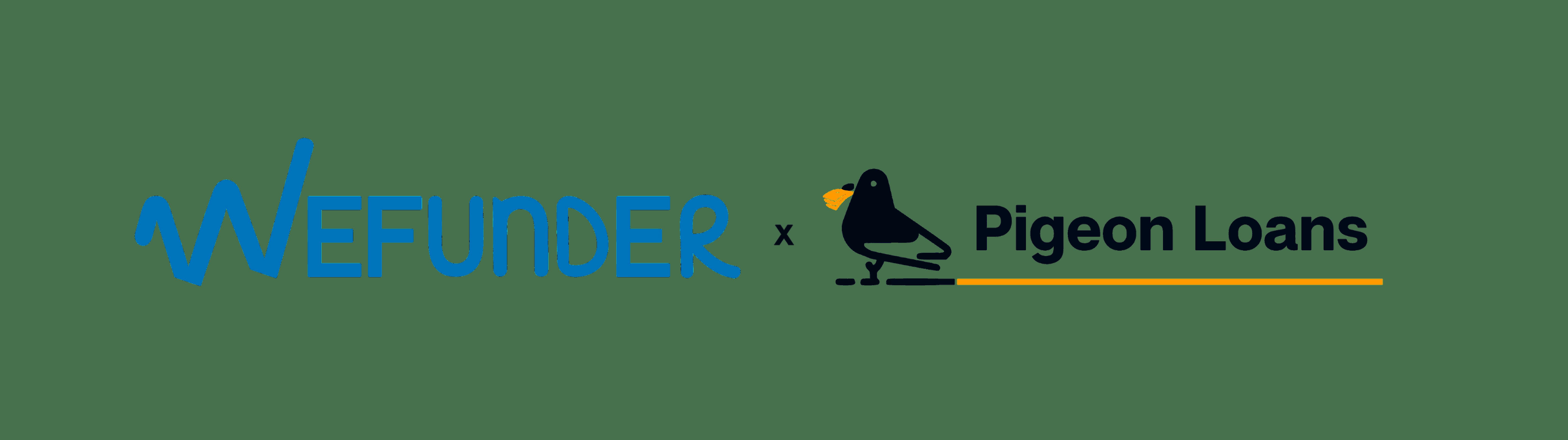 Wefunder x Pigeon Loans Logo