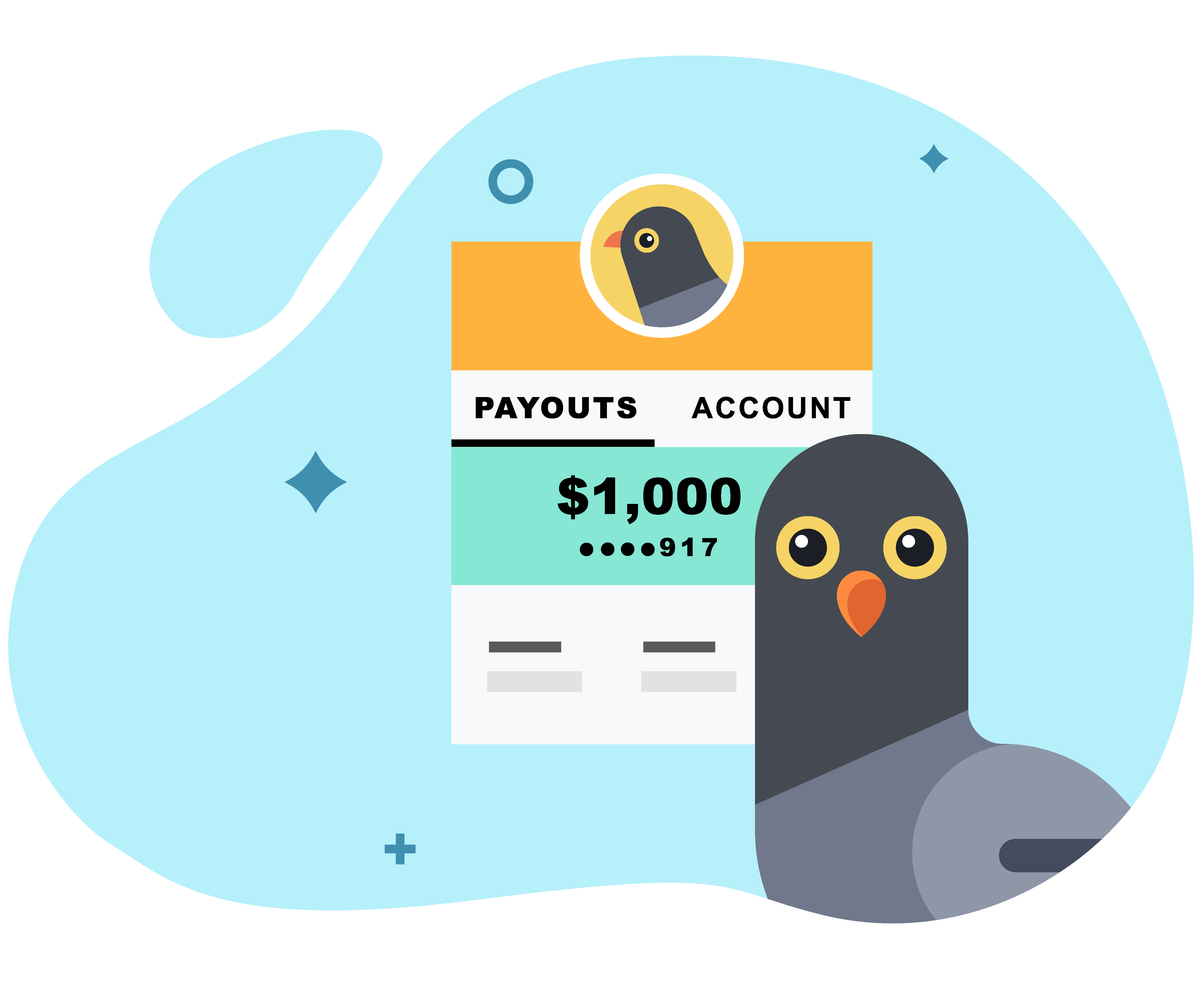 Pigeon Loans Payout Graphic