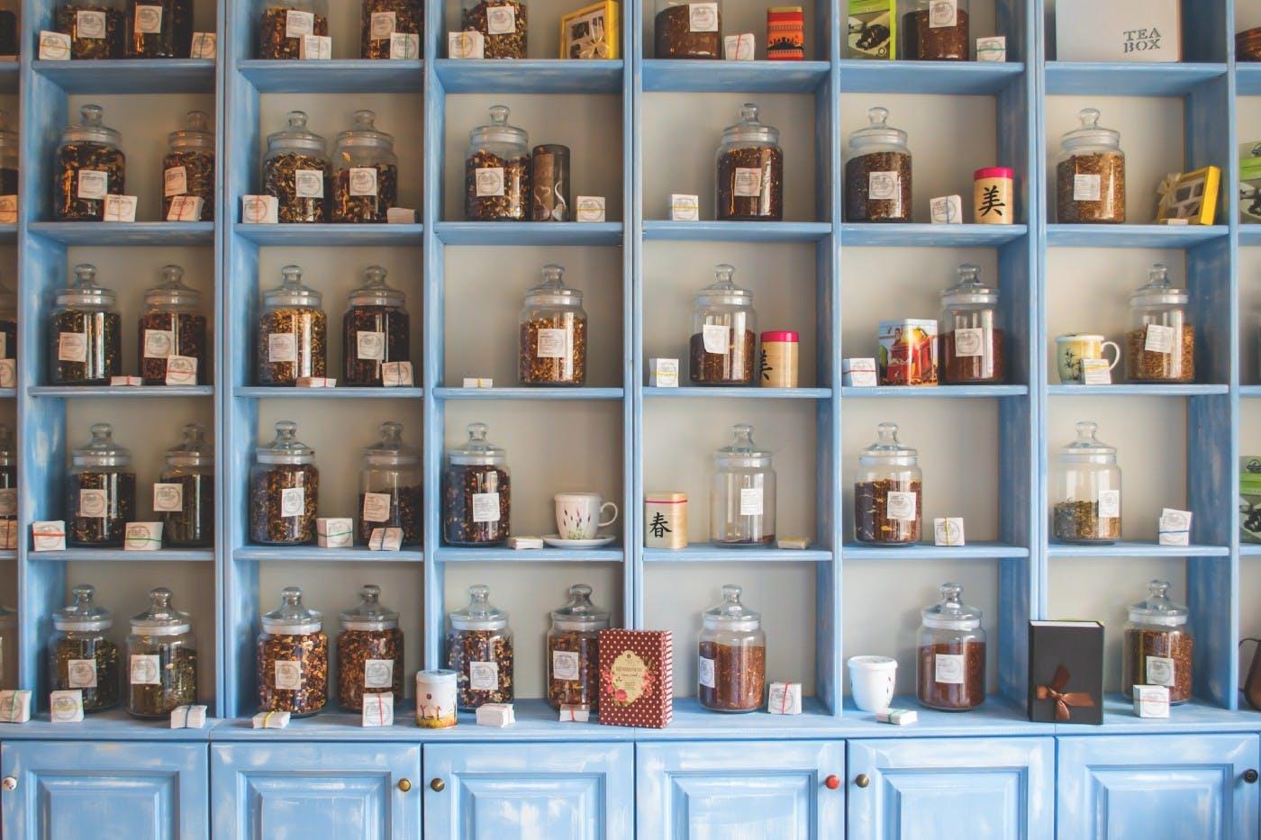 Jars On A Wall