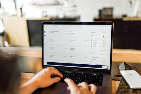 Man Tracking Payments