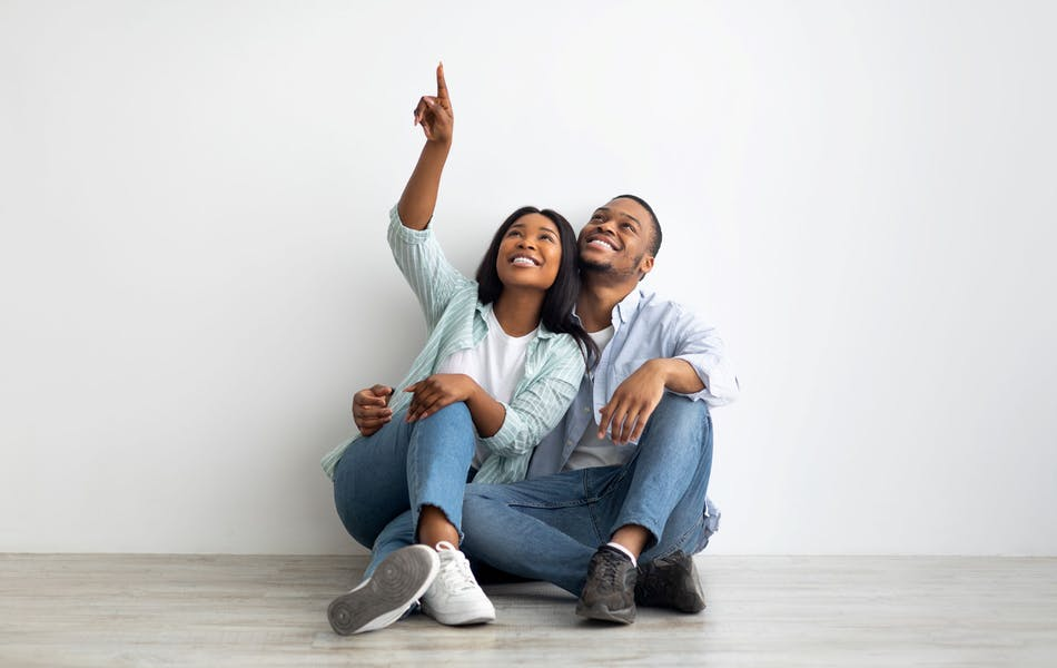 couple thinking about a loan