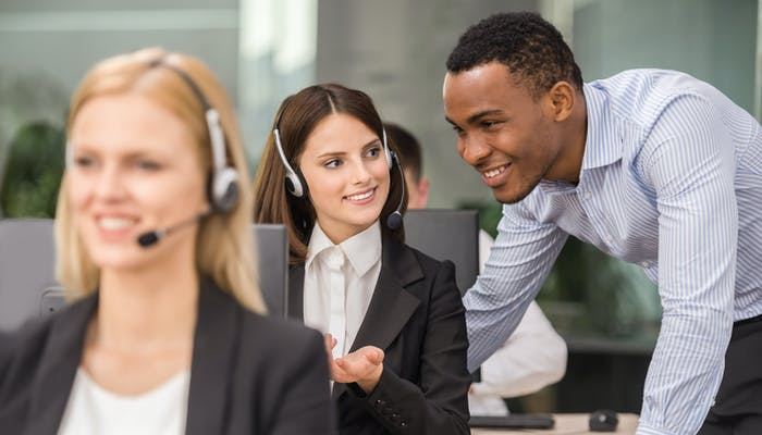 Call centre colleagues