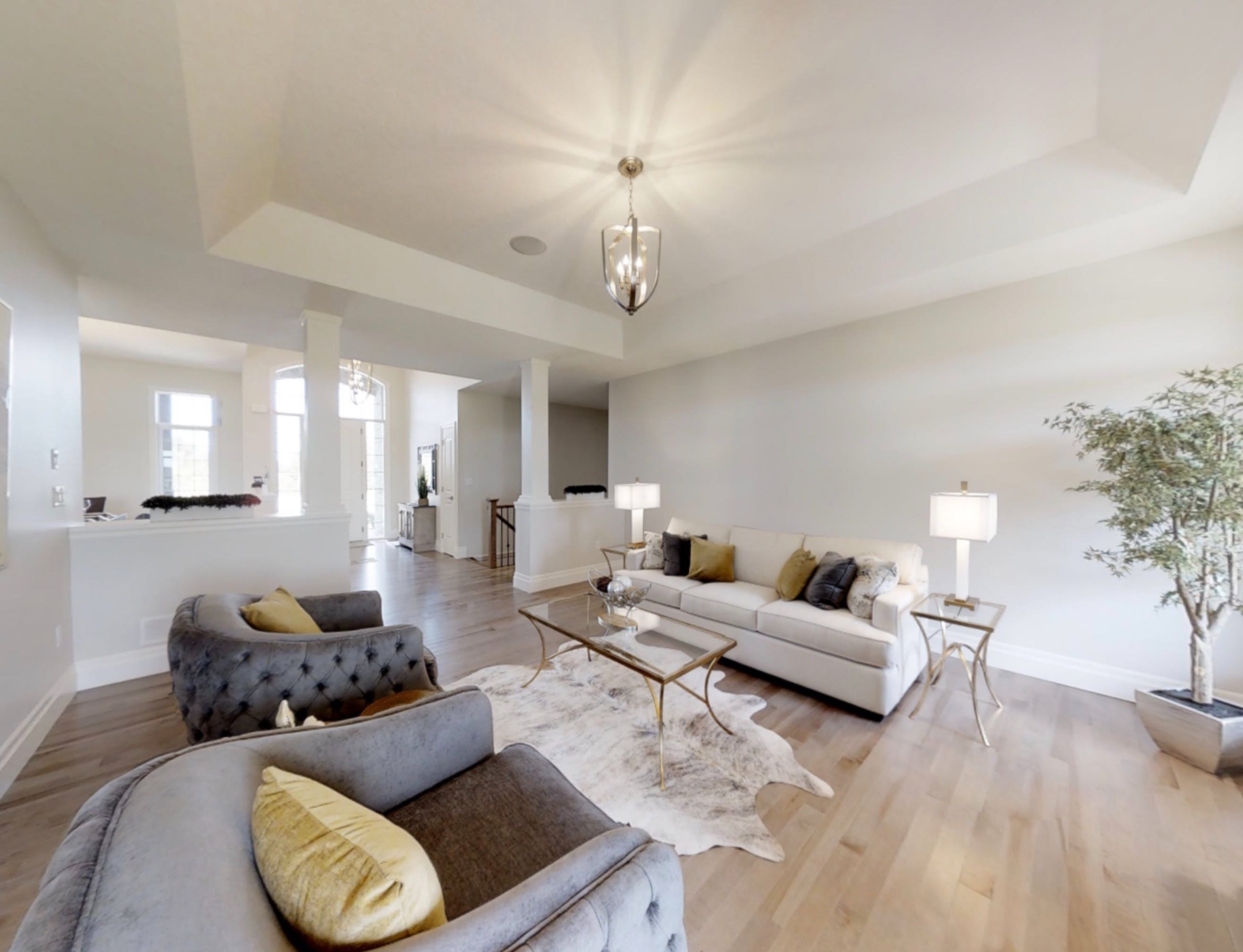 Pinestone Home Interior - Living room