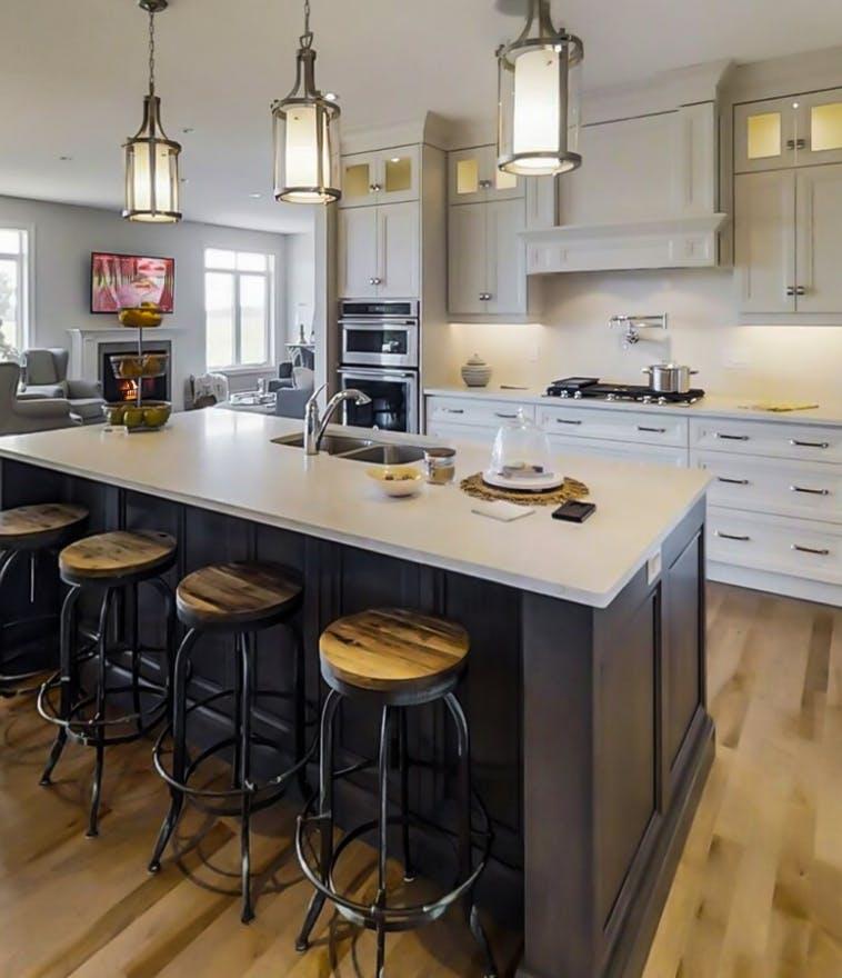 Pinestone Home Interior - Kitchen