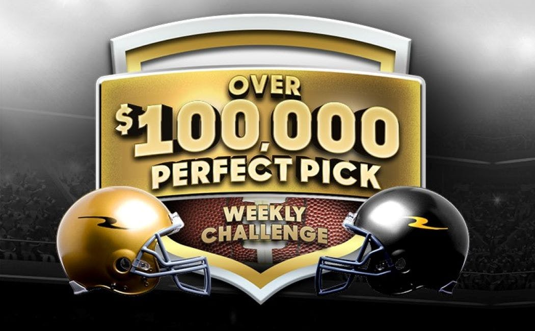 Over $100,000 Perfect Pick Weekly Challenge