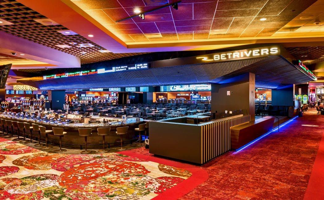 BetRivers Sportsbook Bar