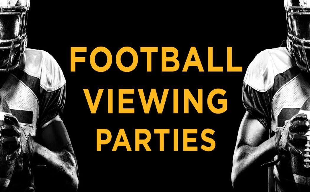 Professional Football Viewing Parties