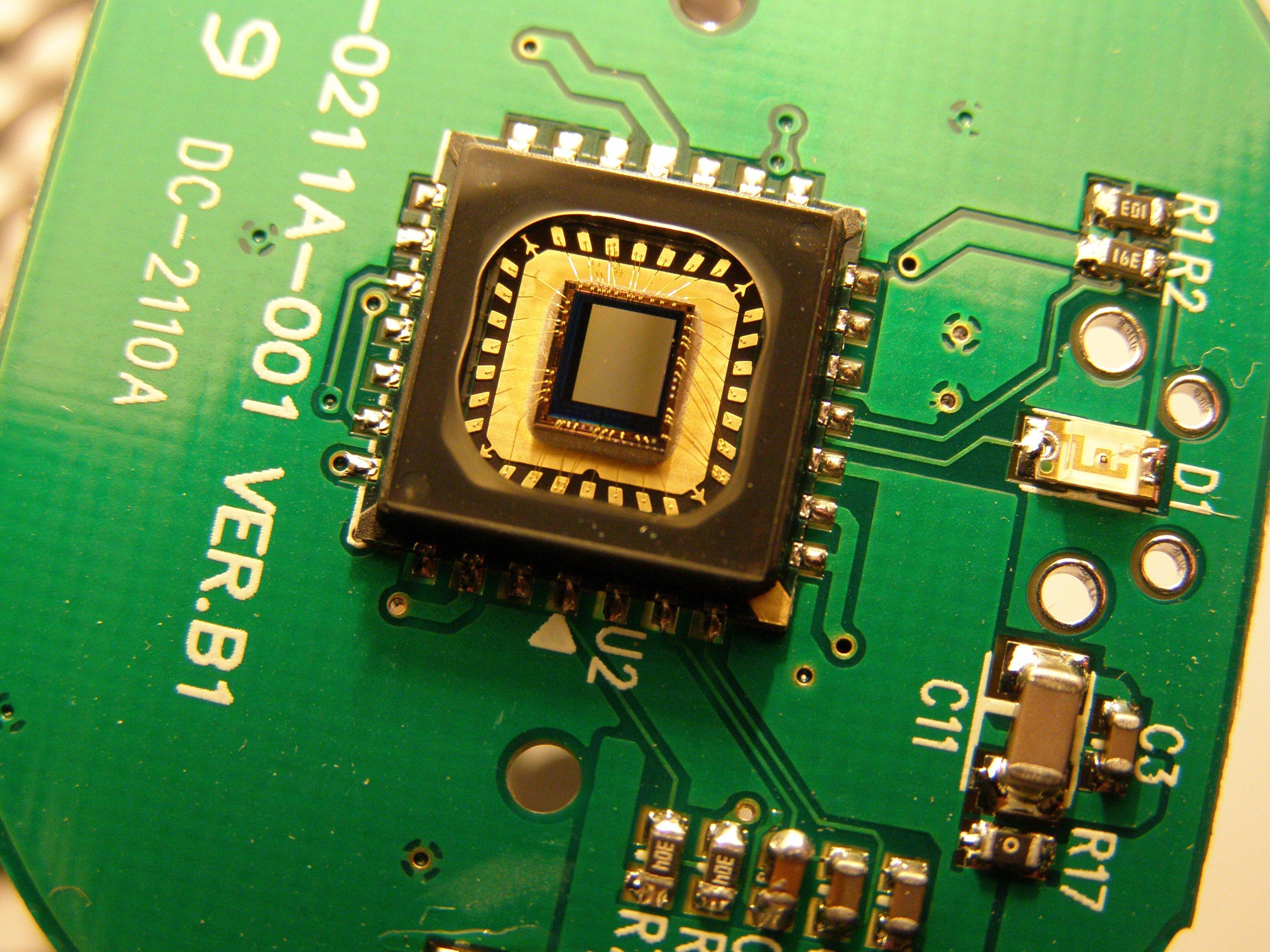 Image showing a camera sensor.