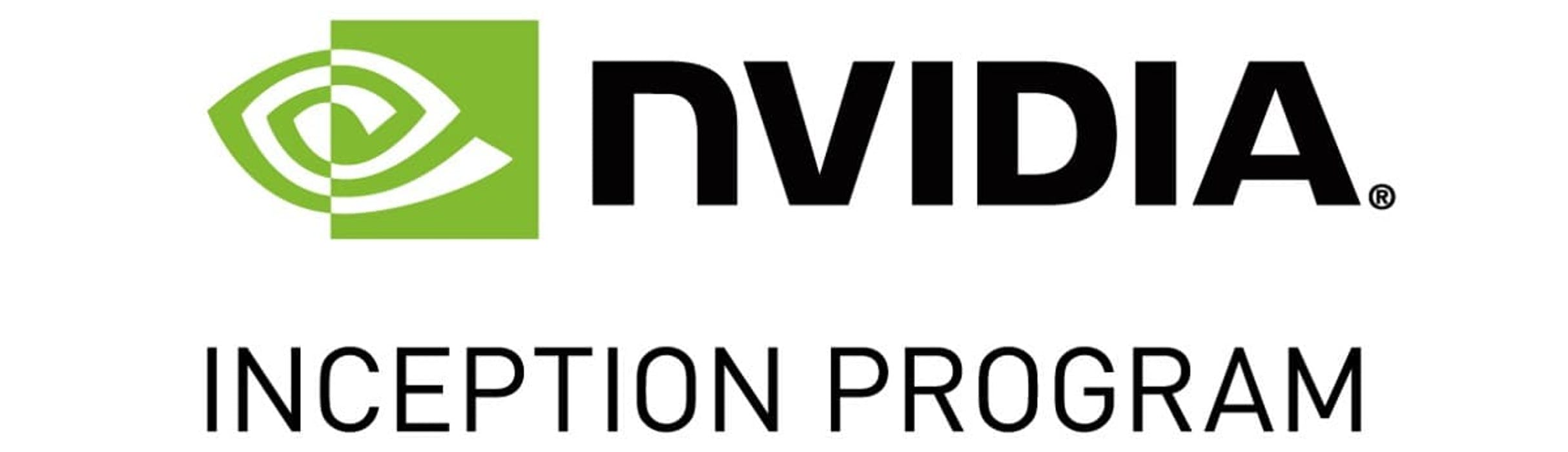 logo for NVIDIA Inception program