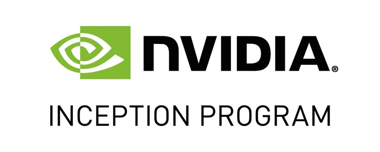 Nvidia inception program logo