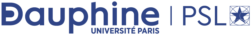 Logo of University Paris-Dauphine, Tunis.