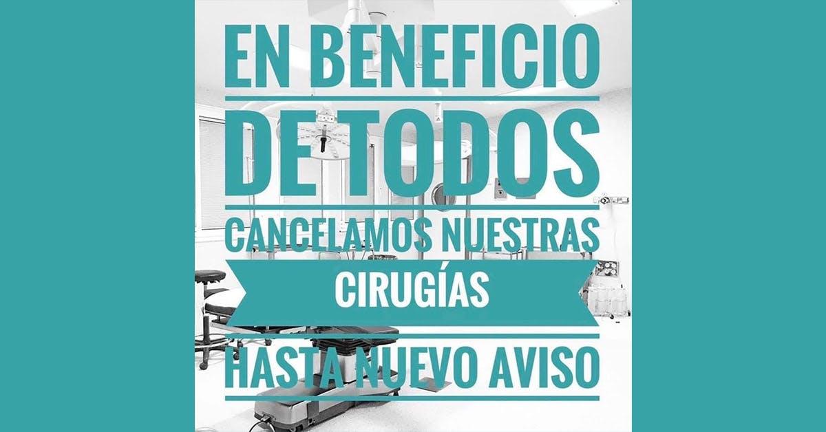 La clínica Murillo está temporalmente cerrada por la alarma sanitaria derivada del Covid-19