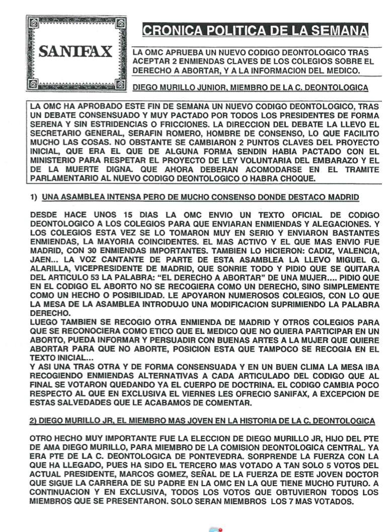 Diego Murillo Jr. El miembro más joven en la historia de la C.Deontológica